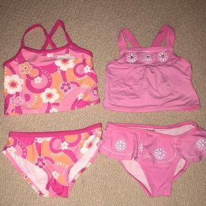2 Gymboree tankini bikinis 7